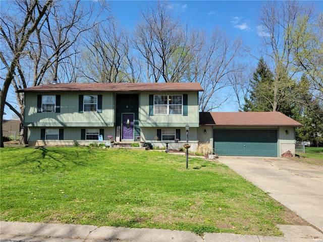 122 Springer Drive, Godfrey, IL 62035 (#21023272) :: Realty Executives, Fort Leonard Wood LLC