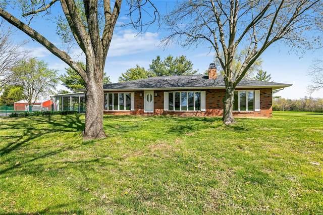 665 S Illinois Street, Millstadt, IL 62260 (#21023487) :: RE/MAX Vision