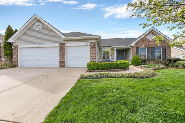 107 Timber Trace Crossing, Wentzville, MO 63385 (#21023614) :: RE/MAX Vision