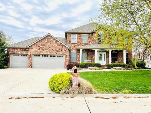 21 Oak Lake Court, Maryville, IL 62062 (#21023630) :: Hartmann Realtors Inc.