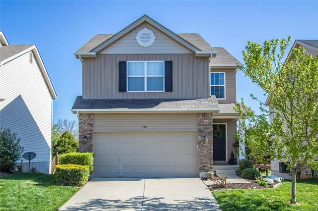 1314 Commons Circle, Cottleville, MO 63304 (#21023654) :: Parson Realty Group
