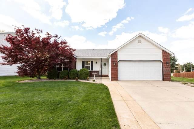354 Vermillion Drive, O'Fallon, IL 62269 (#21023682) :: Tarrant & Harman Real Estate and Auction Co.
