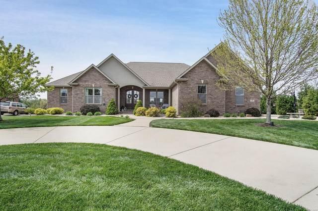 3915 Stone Hollow Lane, Edwardsville, IL 62025 (#21023764) :: Tarrant & Harman Real Estate and Auction Co.