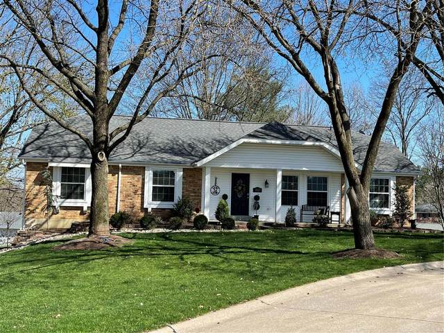 1821 Canyon View Court, Chesterfield, MO 63017 (#21023766) :: Blasingame Group | Keller Williams Marquee