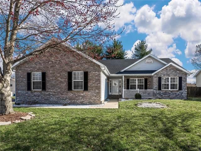 718 Slippery Rock Drive, Edwardsville, IL 62025 (#21023788) :: Fusion Realty, LLC