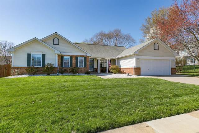 225 W Deer Creek Road, O'Fallon, IL 62269 (#21023790) :: Hartmann Realtors Inc.
