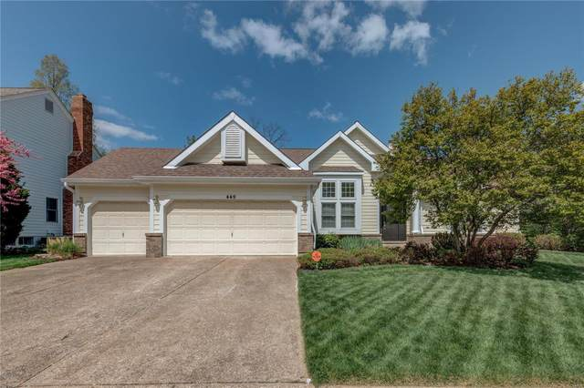 449 Bluff Meadow Drive, Ellisville, MO 63021 (#21023905) :: Parson Realty Group