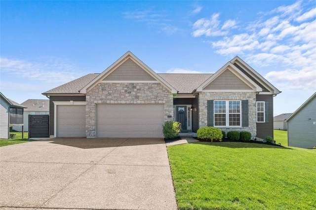 46 Deerfield Court, Wentzville, MO 63385 (#21023910) :: PalmerHouse Properties LLC
