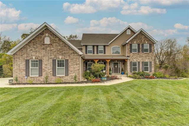 17905 Homestead Bluffs Drive, Wildwood, MO 63005 (#21023993) :: Parson Realty Group