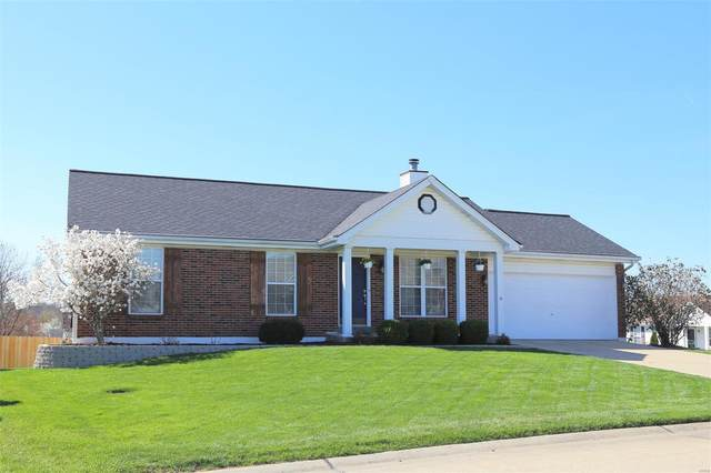 206 Forest Path Drive, Saint Peters, MO 63376 (#21024140) :: Clarity Street Realty