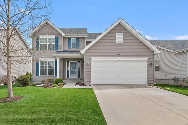 220 Pecan Bluffs Drive, Wentzville, MO 63385 (#21024158) :: PalmerHouse Properties LLC