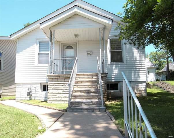 6445 Plateau Avenue, St Louis, MO 63139 (#21024466) :: Parson Realty Group