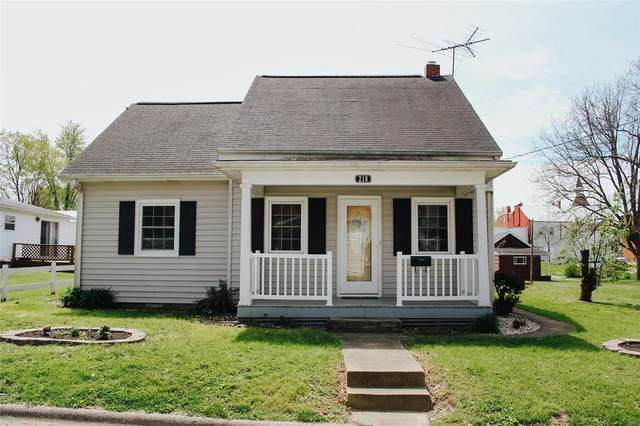 218 E Olive Street, RED BUD, IL 62278 (#21024482) :: Fusion Realty, LLC