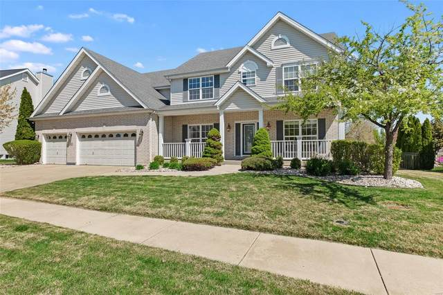 223 Greycliff Bluff Drive, St Louis, MO 63129 (#21024484) :: Terry Gannon | Re/Max Results