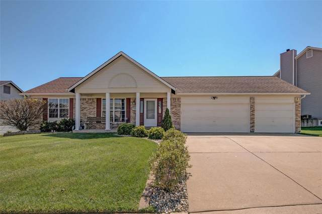 1406 Apple Valley Drive, O'Fallon, MO 63366 (#21024590) :: Parson Realty Group