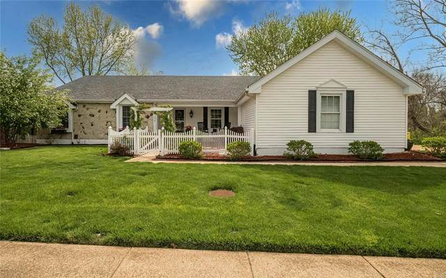 1330 Rusticview Drive, Ballwin, MO 63011 (#21024687) :: Clarity Street Realty