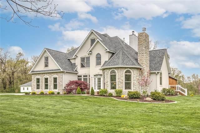 7873 Oak Hollow Lane, Edwardsville, IL 62025 (#21024795) :: Tarrant & Harman Real Estate and Auction Co.