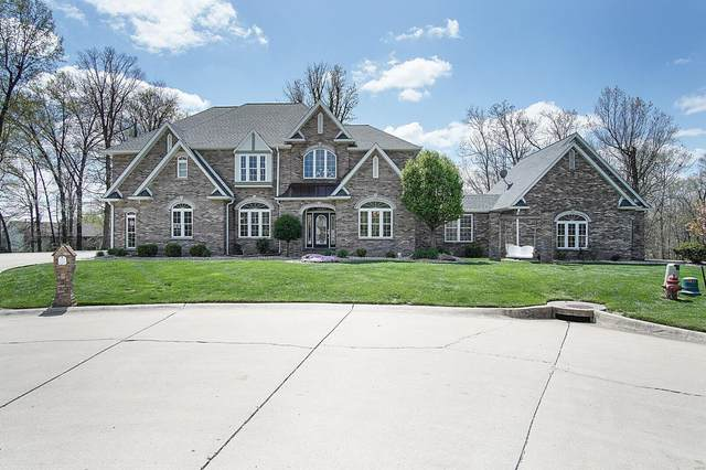2 Oak Crest Drive, Bethalto, IL 62010 (#21025026) :: Parson Realty Group