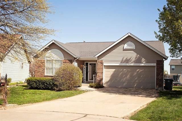 61 Briarchase Court, Lake St Louis, MO 63367 (#21025463) :: PalmerHouse Properties LLC