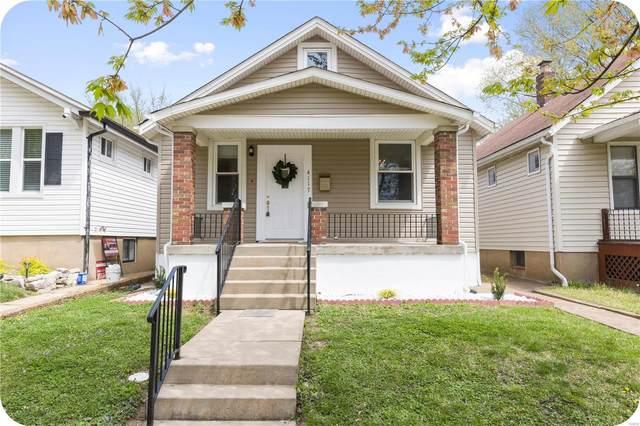 4117 Walsh Street, St Louis, MO 63116 (#21025520) :: PalmerHouse Properties LLC