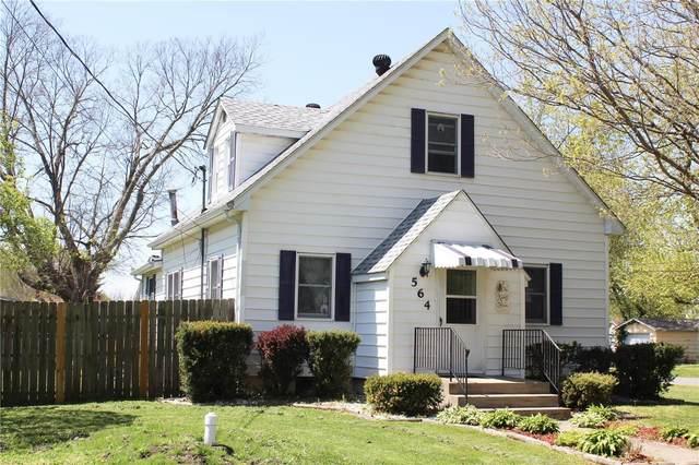 564 Cora Avenue, Livingston, IL 62058 (#21025698) :: Clarity Street Realty