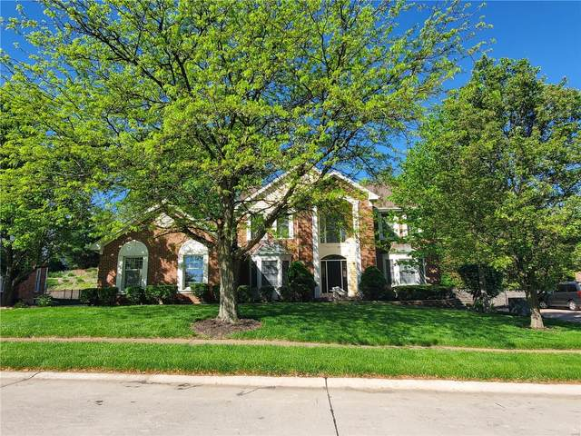 1343 Conway Oaks, Chesterfield, MO 63017 (#21026284) :: Clarity Street Realty