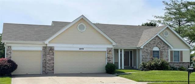 3819 Triple Crown, Florissant, MO 63034 (#21026462) :: Clarity Street Realty