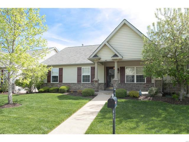 143 Scenic Pass V, Cottleville, MO 63376 (#21026976) :: Parson Realty Group
