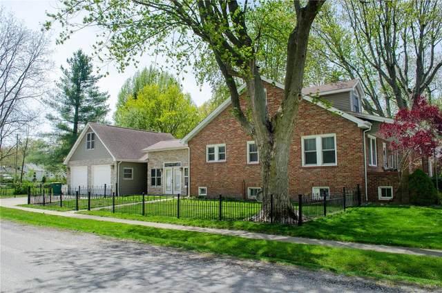 504 W Laurel Street, Millstadt, IL 62260 (MLS #21027034) :: Century 21 Prestige