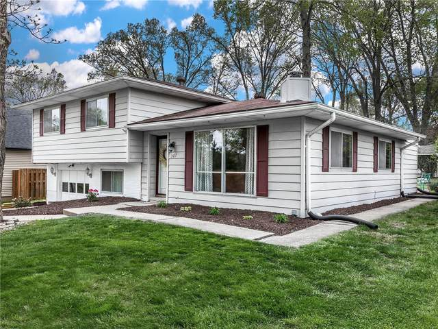 307 Barnett Drive, Edwardsville, IL 62025 (#21027153) :: Clarity Street Realty