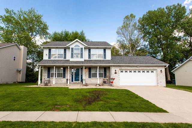 1210 Illini Drive, O'Fallon, IL 62269 (#21027607) :: Kelly Hager Group | TdD Premier Real Estate