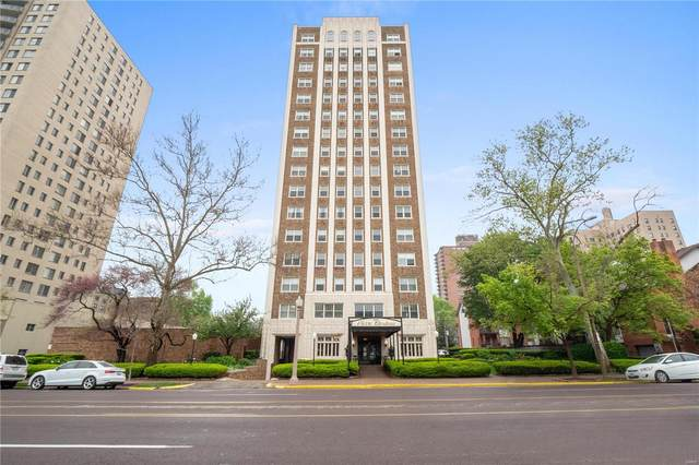 4440 Lindell Boulevard #802, St Louis, MO 63108 (#21027749) :: Parson Realty Group