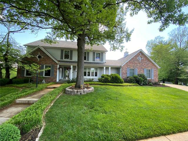 14202 Cobble Hill Court, Chesterfield, MO 63017 (#21027922) :: Blasingame Group | Keller Williams Marquee