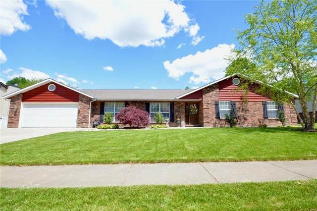 1030 Woodleaf Drive, O'Fallon, IL 62269 (#21028057) :: Matt Smith Real Estate Group
