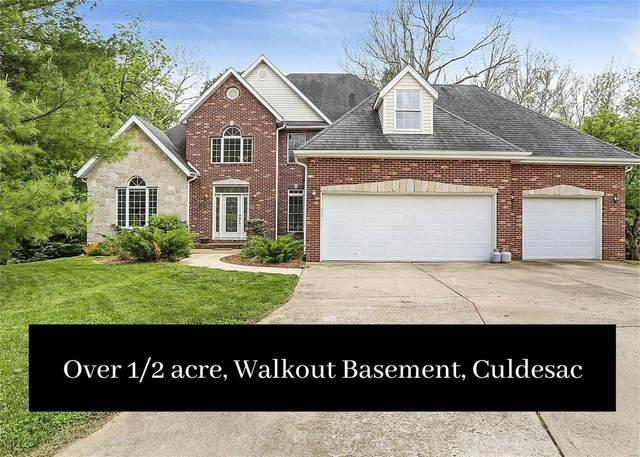 4 Wedgewood Court, Edwardsville, IL 62025 (#21028189) :: Fusion Realty, LLC
