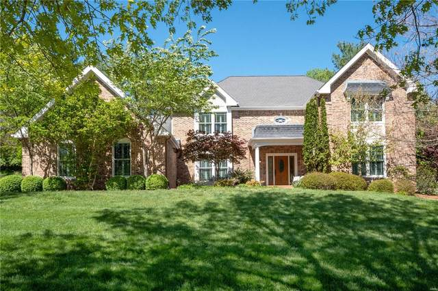 1444 Carriage Crossing Lane, Chesterfield, MO 63005 (#21028221) :: Parson Realty Group