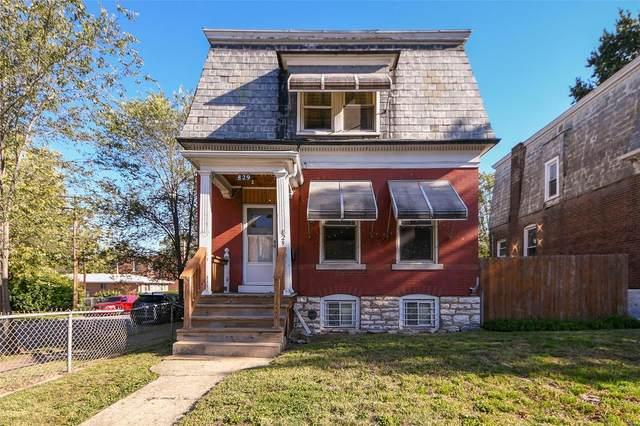 829 Bates Street, St Louis, MO 63111 (#21028505) :: Jeremy Schneider Real Estate
