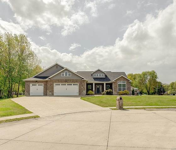 621 Briar Meadow Court, Troy, IL 62294 (#21028591) :: Parson Realty Group