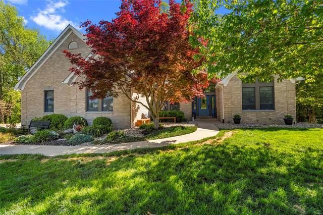1086 Prestonwood Drive, Edwardsville, IL 62025 (#21028861) :: Hartmann Realtors Inc.