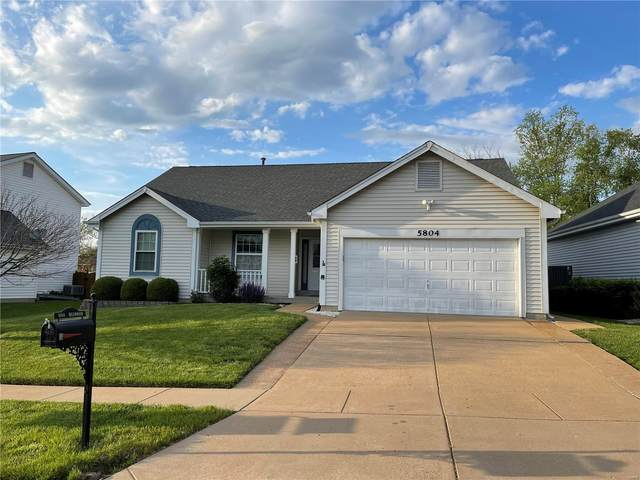 5804 Briarwood Terrace Ct, Oakville, MO 63129 (#21029365) :: Clarity Street Realty
