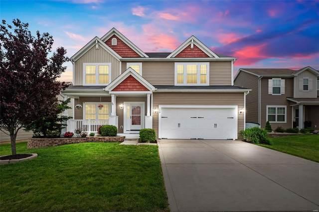 150 Fox Creek Drive, Wentzville, MO 63385 (#21029381) :: Parson Realty Group