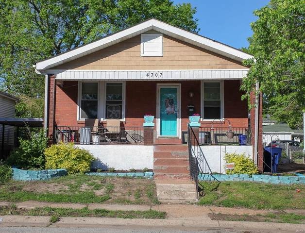 4707 Tesson Street, St Louis, MO 63116 (#21029779) :: Parson Realty Group