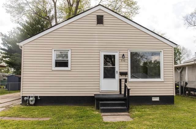 550 Logan Street, Bethalto, IL 62010 (#21030168) :: The Becky O'Neill Power Home Selling Team