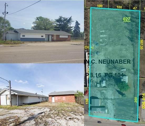 215 W Macarthur Drive, Cottage Hills, IL 62018 (#21030664) :: Jeremy Schneider Real Estate
