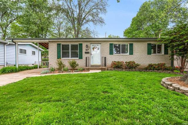 27 San Mateo Drive, Florissant, MO 63031 (#21030678) :: Terry Gannon | Re/Max Results