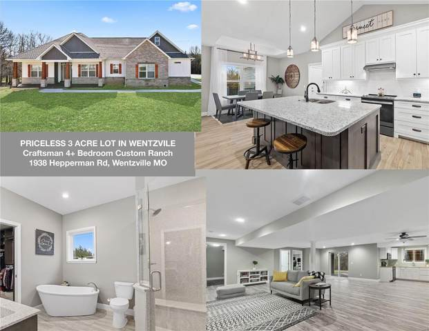1938 Hepperman (+3.01 Ac) Road, Wentzville, MO 63385 (#21030946) :: Parson Realty Group