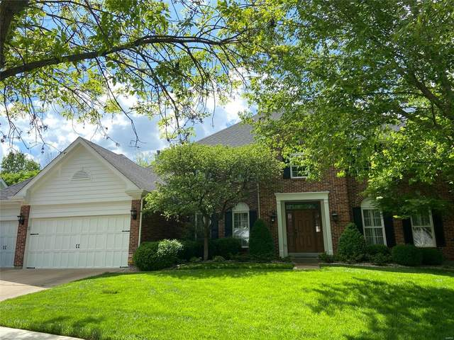 1241 Bluffview Ridge Drive, Chesterfield, MO 63005 (#21030969) :: Parson Realty Group