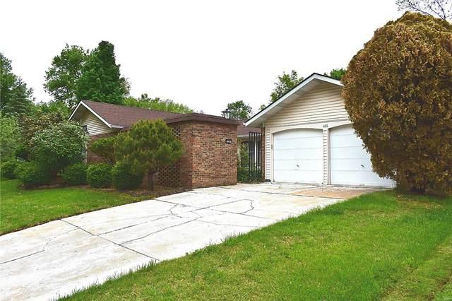 486 Ironwood, Ballwin, MO 63011 (#21031211) :: PalmerHouse Properties LLC