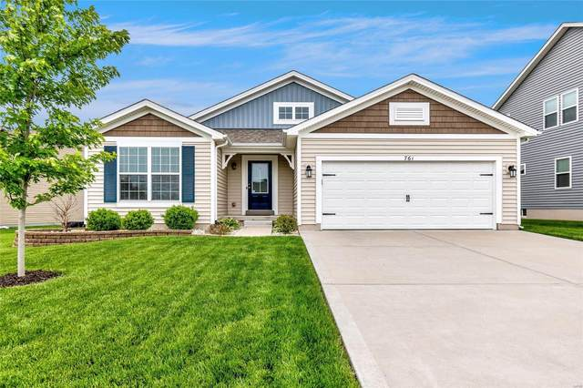 761 Derby Way Drive, Wentzville, MO 63385 (#21031444) :: Realty Executives, Fort Leonard Wood LLC