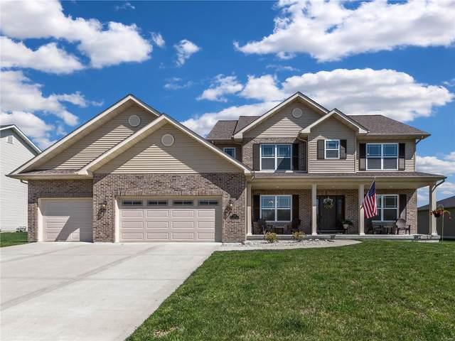 712 Longfellow Drive, O'Fallon, IL 62269 (#21031567) :: Tarrant & Harman Real Estate and Auction Co.